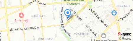 KazInvestEngineering ТОО на карте Алматы