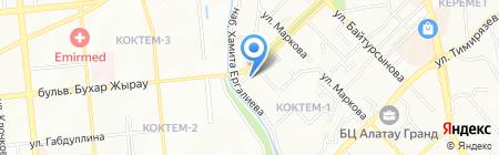 КазТехноPol Алматы на карте Алматы