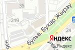 Схема проезда до компании Bilim Media Group в Алматы