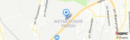 КОМЕК МАШИНЕРИ Казахстан на карте Алматы