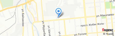 Автохлам на карте Алматы