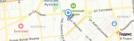 Bar2B на карте Алматы