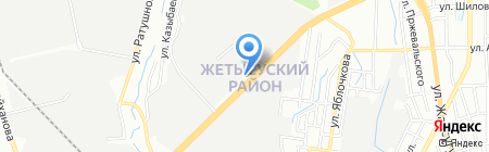 ЕриКА на карте Алматы