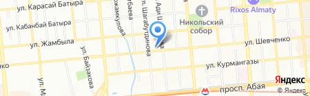 Дакар на карте Алматы