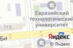 Схема проезда до компании Moon Technology в Алматы