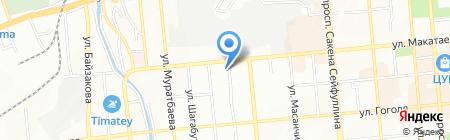 Эксплуатационный участок Алмалинского района г. Алматы на карте Алматы