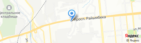 Turbo на карте Алматы