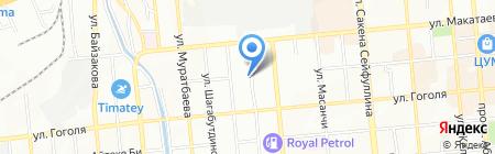 Клиника Бучан на карте Алматы