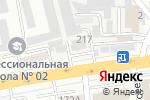 Схема проезда до компании BTU Group в Алматы