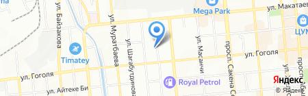 Умит продовольственный магазин на карте Алматы