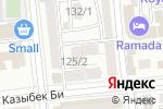 Схема проезда до компании Kadroff Studio в Алматы