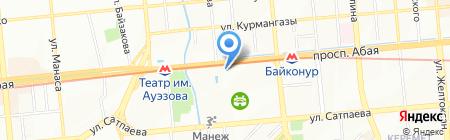 ENTRECOTE на карте Алматы