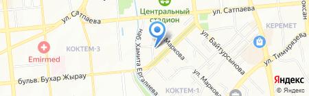 Агентство Безопасности IT`S на карте Алматы