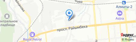 BASF Центральная Азия на карте Алматы