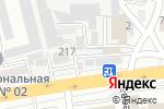 Схема проезда до компании Веритек Казахстан в Алматы