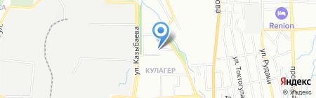 Алматы каласынын тургын уй коммуналдык шаруашылык касипорны на карте Алматы