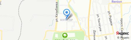 Коктурик на карте Алматы