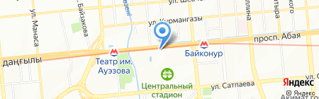 Mr.Doner на карте Алматы