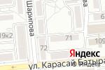 Схема проезда до компании Компания Телемост, ТОО в Алматы