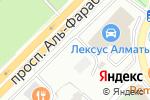 Схема проезда до компании АвтоДвор Есентай в Алматы