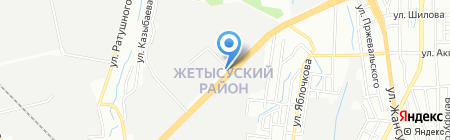 АЗС T-Oil Group на карте Алматы