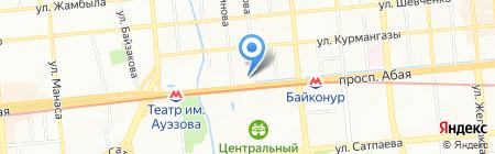Оздоровительный центр Масимова на карте Алматы