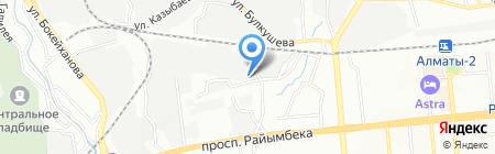 Интеркоммерц на карте Алматы