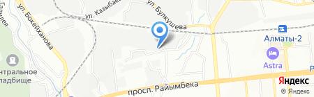 ГаМа Логистик на карте Алматы