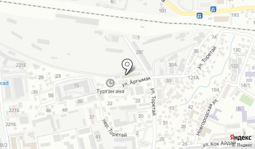 Алматы-2. Схема проезда в Алматы