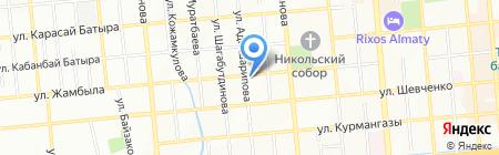 К-Оптика на карте Алматы