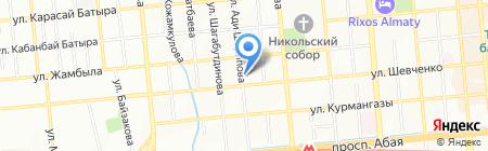 Rio-Tour на карте Алматы