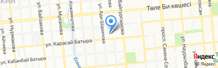 Казахэнергоаудит ТОО на карте Алматы