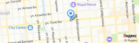 Детский на карте Алматы