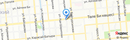 Ринат на карте Алматы