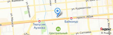 Suvari на карте Алматы
