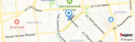 Галерея Центр на карте Алматы