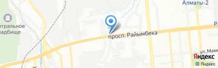 Нурлыбек на карте Алматы