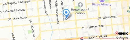 Ассоциация независимых экспертов и оценщиков на карте Алматы