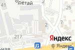 Схема проезда до компании China KZ в Алматы