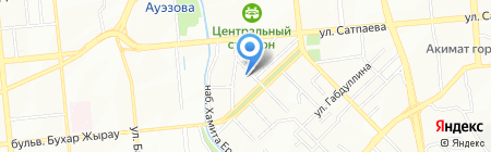 Almaty Koncert Group на карте Алматы