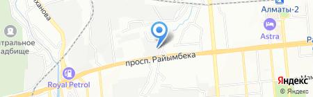 Изотехстрой ТОО на карте Алматы