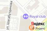 Схема проезда до компании Fidelity в Алматы