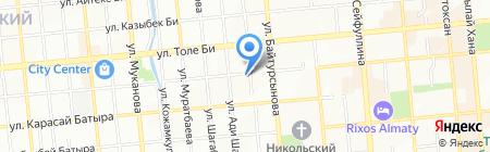 Лкс Инвест на карте Алматы