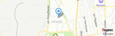 Стиляга на карте Алматы