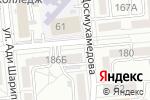Схема проезда до компании Moontech в Алматы
