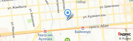 Magic Tips на карте Алматы