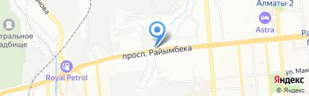 Суперлото на карте Алматы