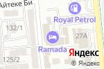 Схема проезда до компании Ambrosia в Алматы