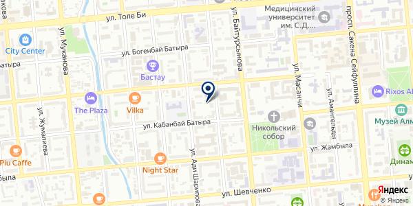 L & Com на карте Алматы