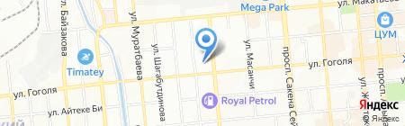 Advert-Print на карте Алматы